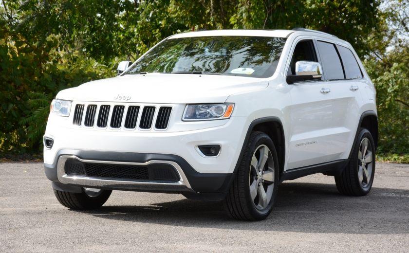 2015 Jeep Grand Cherokee LIMITED A/C CUIR TOIT NAV BLUETOOTH CAM #2