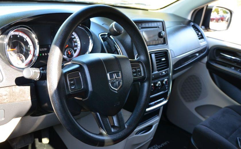 2014 Dodge GR Caravan SXT VITRES ELEC CRUISE A/C BIZONE #9