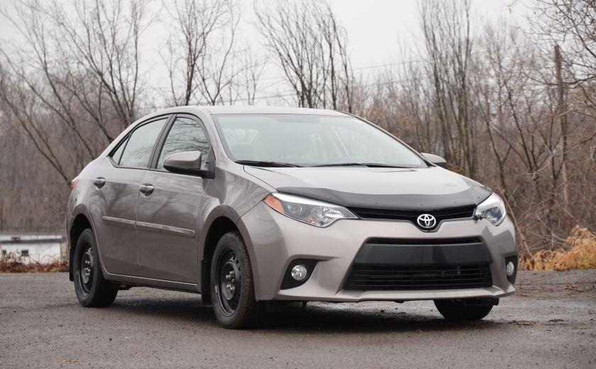 2014 Toyota Corolla LE A/C CRUISE CAM SIEGES AV CHAUFFANT BLUETOOTH #0