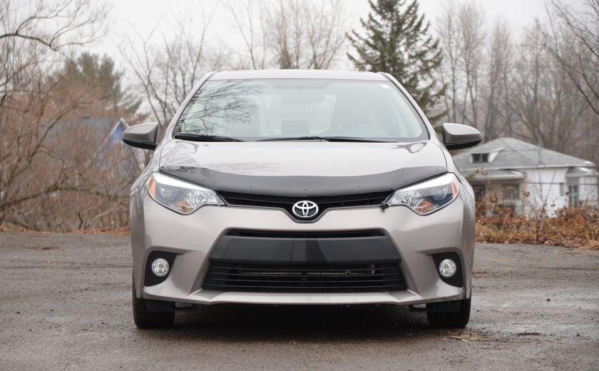 2014 Toyota Corolla LE A/C CRUISE CAM SIEGES AV CHAUFFANT BLUETOOTH #1