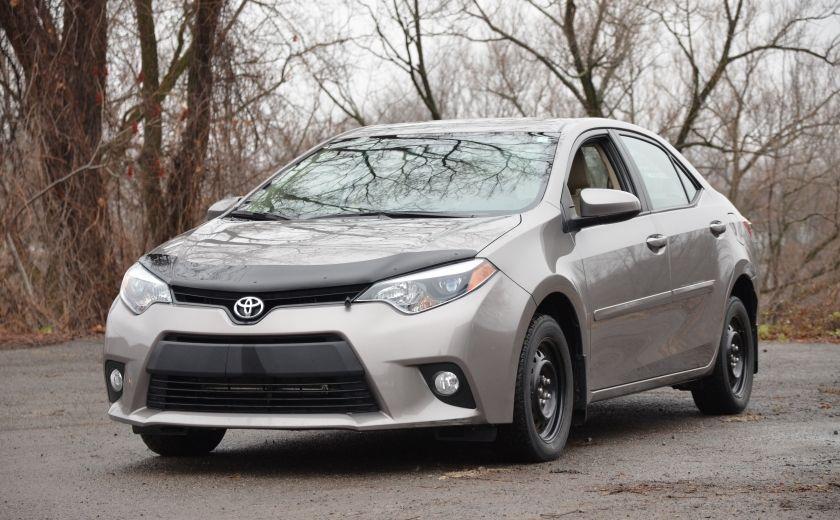 2014 Toyota Corolla LE A/C CRUISE CAM SIEGES AV CHAUFFANT BLUETOOTH #2