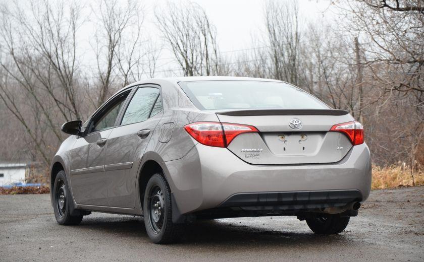 2014 Toyota Corolla LE A/C CRUISE CAM SIEGES AV CHAUFFANT BLUETOOTH #4