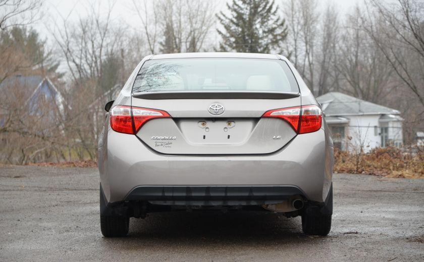 2014 Toyota Corolla LE A/C CRUISE CAM SIEGES AV CHAUFFANT BLUETOOTH #5