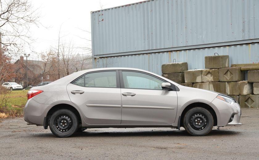 2014 Toyota Corolla LE A/C CRUISE CAM SIEGES AV CHAUFFANT BLUETOOTH #7