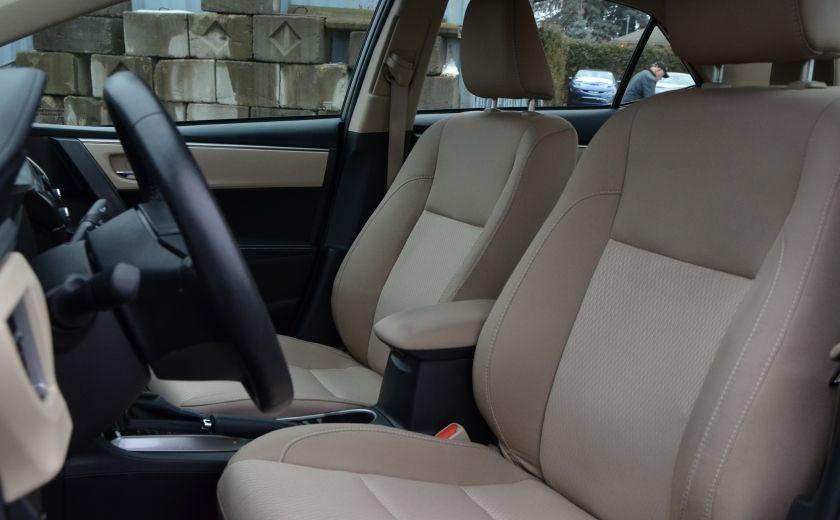 2014 Toyota Corolla LE A/C CRUISE CAM SIEGES AV CHAUFFANT BLUETOOTH #9
