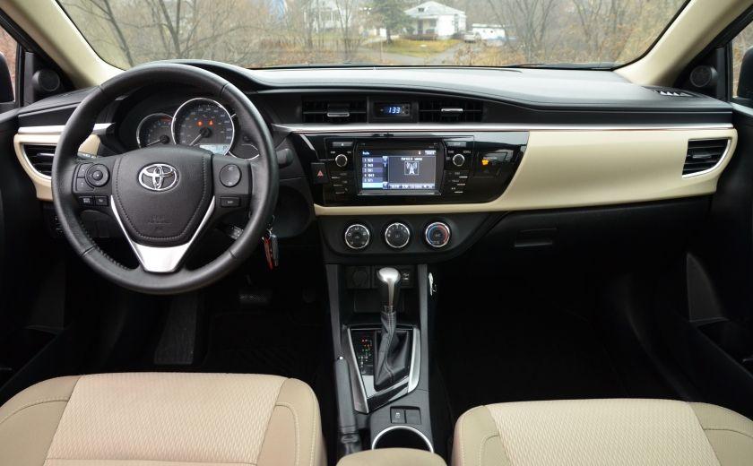 2014 Toyota Corolla LE A/C CRUISE CAM SIEGES AV CHAUFFANT BLUETOOTH #11
