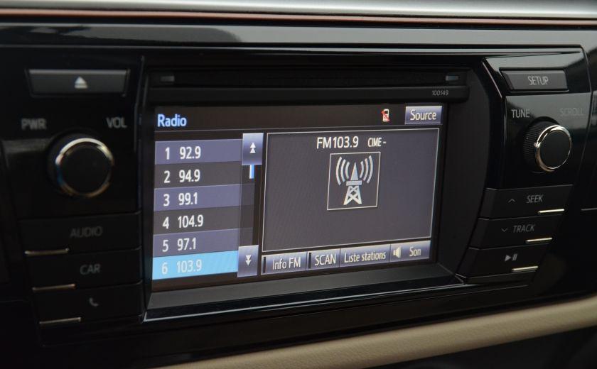 2014 Toyota Corolla LE A/C CRUISE CAM SIEGES AV CHAUFFANT BLUETOOTH #14