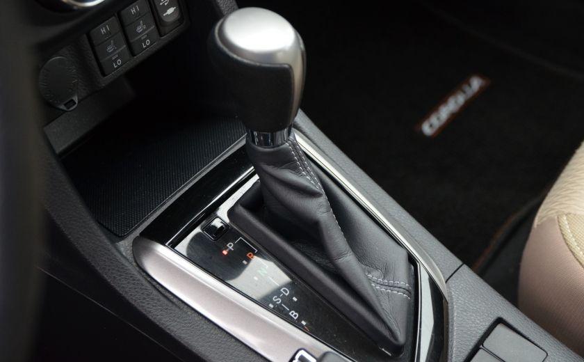 2014 Toyota Corolla LE A/C CRUISE CAM SIEGES AV CHAUFFANT BLUETOOTH #26