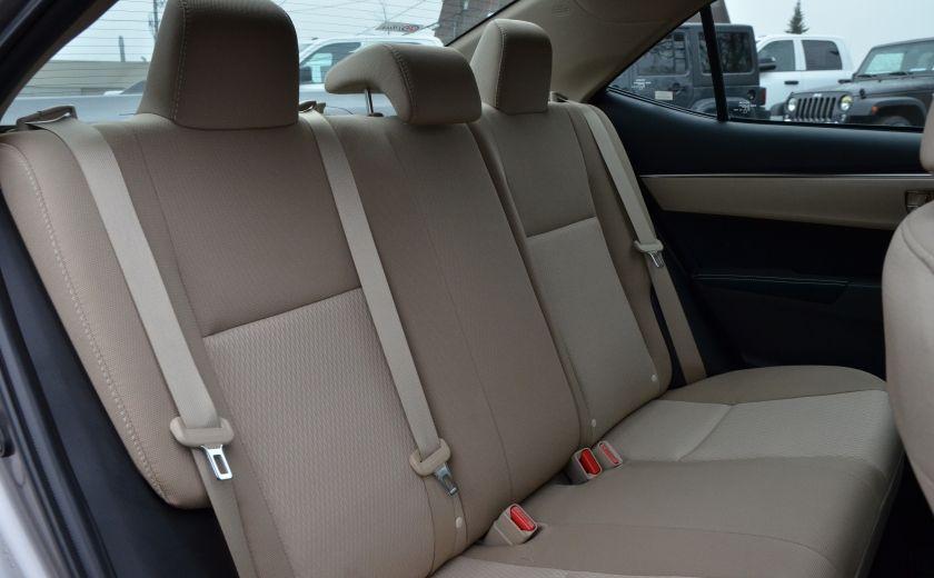 2014 Toyota Corolla LE A/C CRUISE CAM SIEGES AV CHAUFFANT BLUETOOTH #32