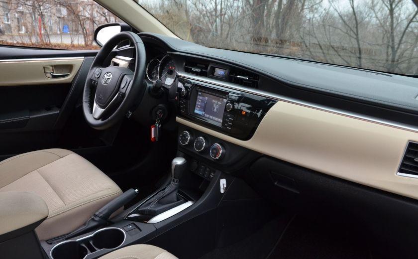 2014 Toyota Corolla LE A/C CRUISE CAM SIEGES AV CHAUFFANT BLUETOOTH #33