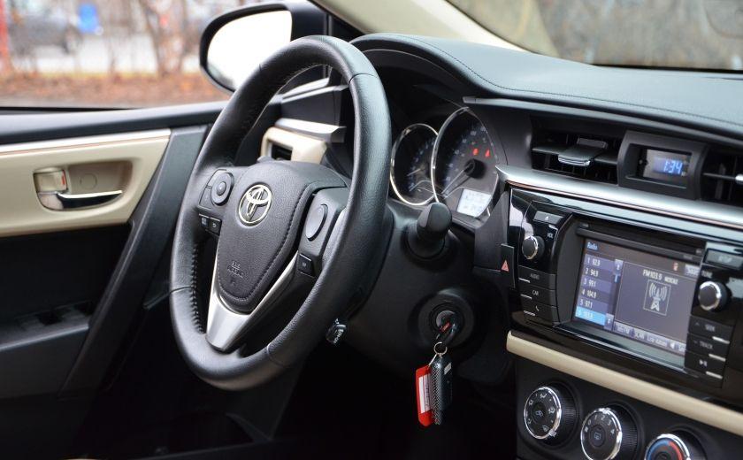 2014 Toyota Corolla LE A/C CRUISE CAM SIEGES AV CHAUFFANT BLUETOOTH #34