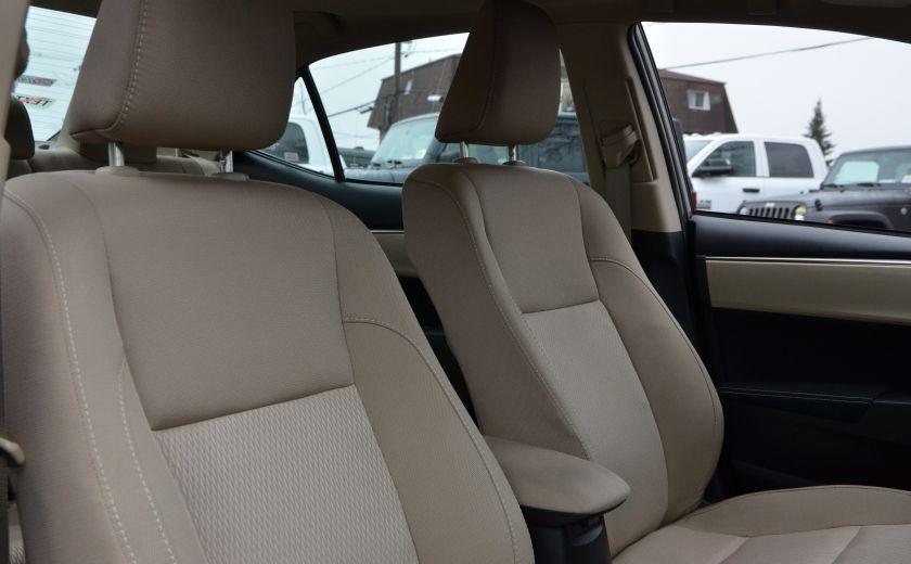 2014 Toyota Corolla LE A/C CRUISE CAM SIEGES AV CHAUFFANT BLUETOOTH #36