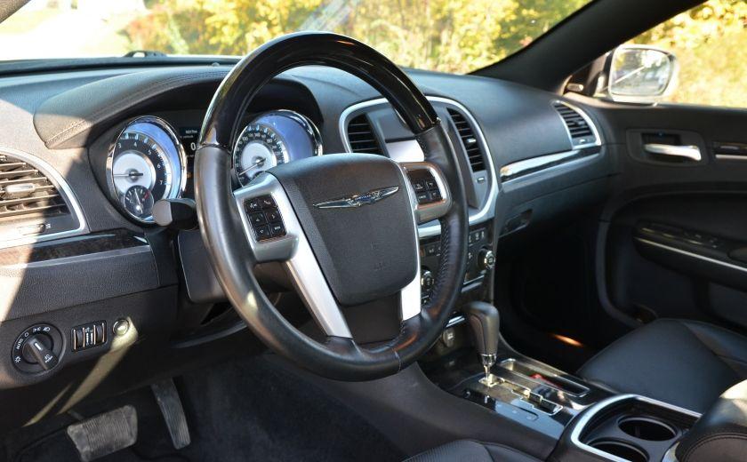 2013 Chrysler 300 300C CUIR TOIT PANO NAV A/C BIZONE CAM BLUETOOTH #8