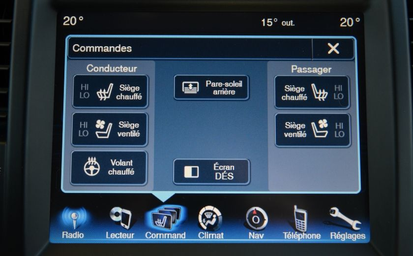 2013 Chrysler 300 300C CUIR TOIT PANO NAV A/C BIZONE CAM BLUETOOTH #16