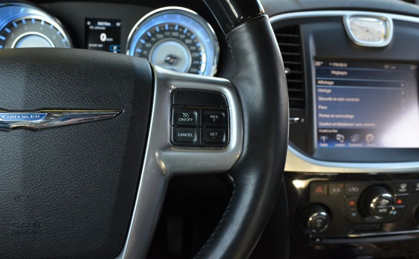 2013 Chrysler 300 300C CUIR TOIT PANO NAV A/C BIZONE CAM BLUETOOTH #26