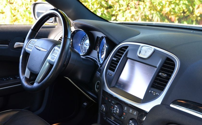 2013 Chrysler 300 300C CUIR TOIT PANO NAV A/C BIZONE CAM BLUETOOTH #39