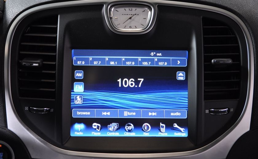 2013 Chrysler 300 300C CUIR TOIT PANO NAV A/C BIZONE CAM BLUETOOTH #17