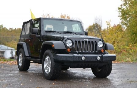2010 Jeep Wrangler ÉDITION SPORT MAN TOIT MOU 4X4 in Gatineau