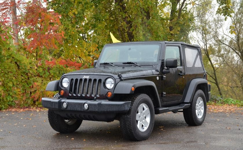 2010 Jeep Wrangler ÉDITION SPORT MAN TOIT MOU 4X4 #2