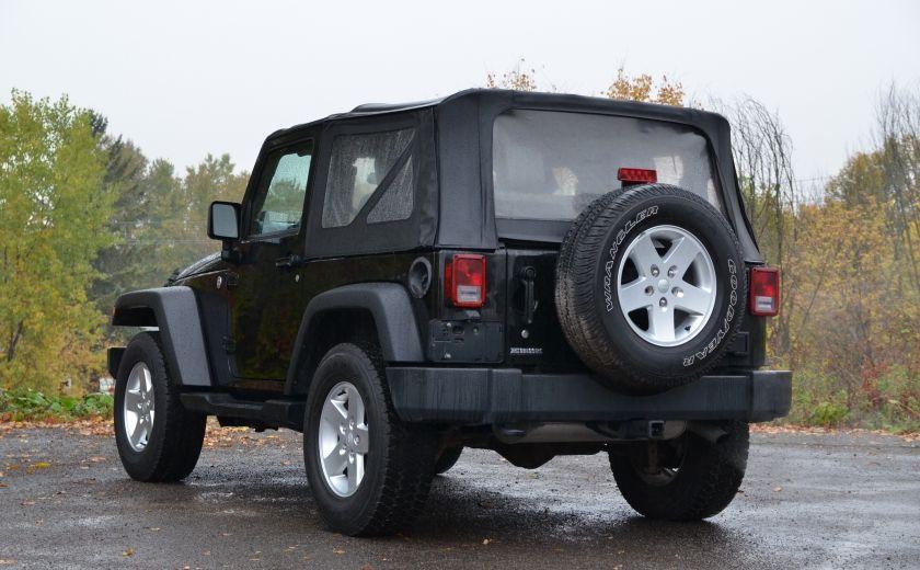 2010 Jeep Wrangler ÉDITION SPORT MAN TOIT MOU 4X4 #4