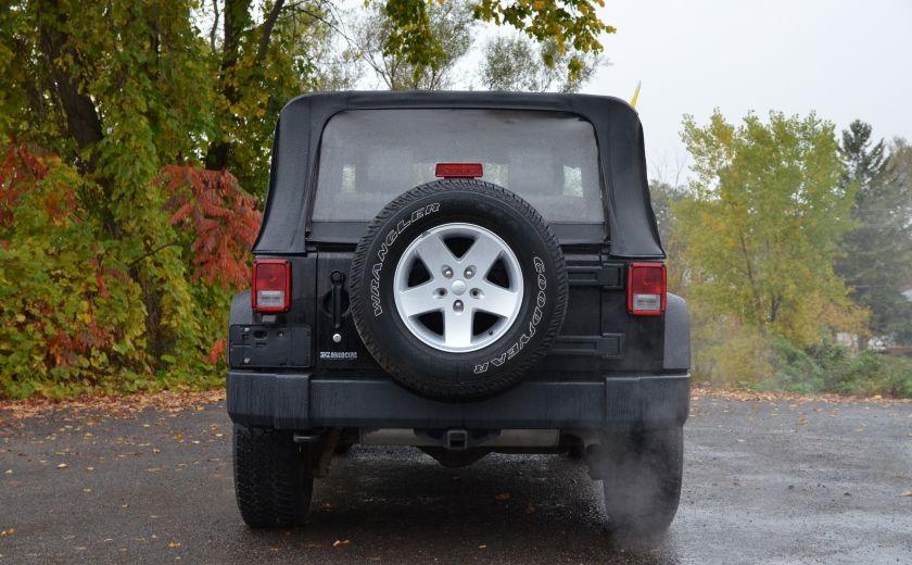 2010 Jeep Wrangler ÉDITION SPORT MAN TOIT MOU 4X4 #5