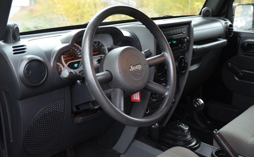 2010 Jeep Wrangler ÉDITION SPORT MAN TOIT MOU 4X4 #7
