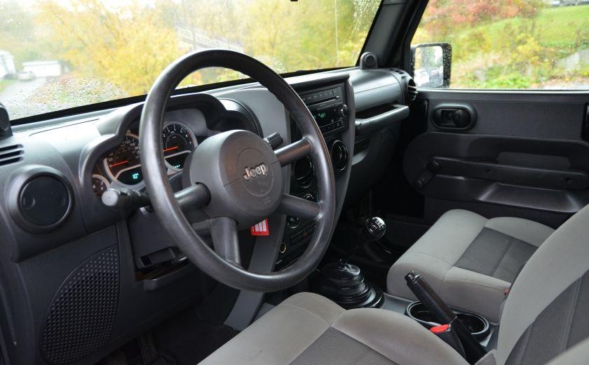 2010 Jeep Wrangler ÉDITION SPORT MAN TOIT MOU 4X4 #8