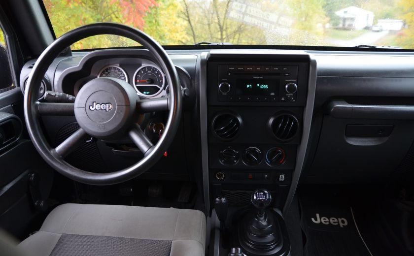 2010 Jeep Wrangler ÉDITION SPORT MAN TOIT MOU 4X4 #9