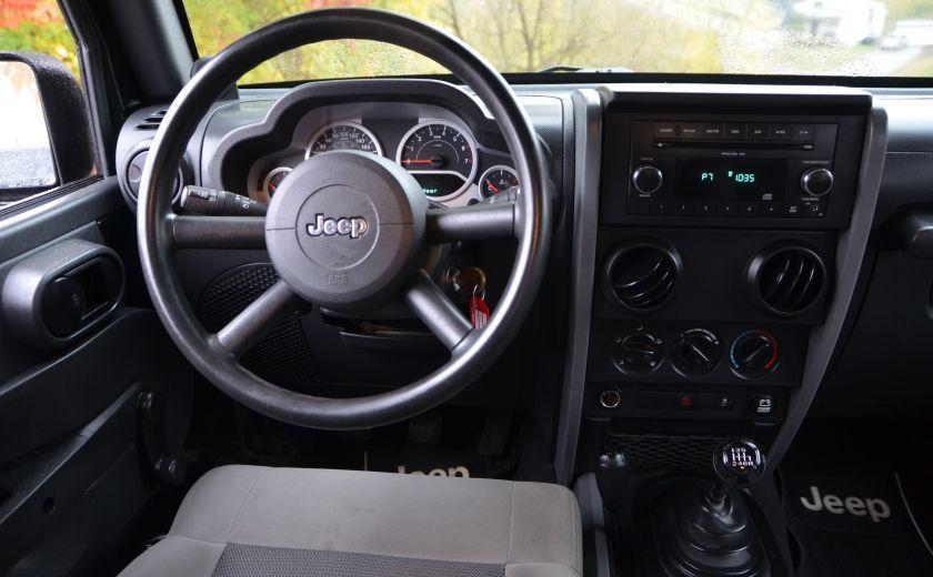 2010 Jeep Wrangler ÉDITION SPORT MAN TOIT MOU 4X4 #10
