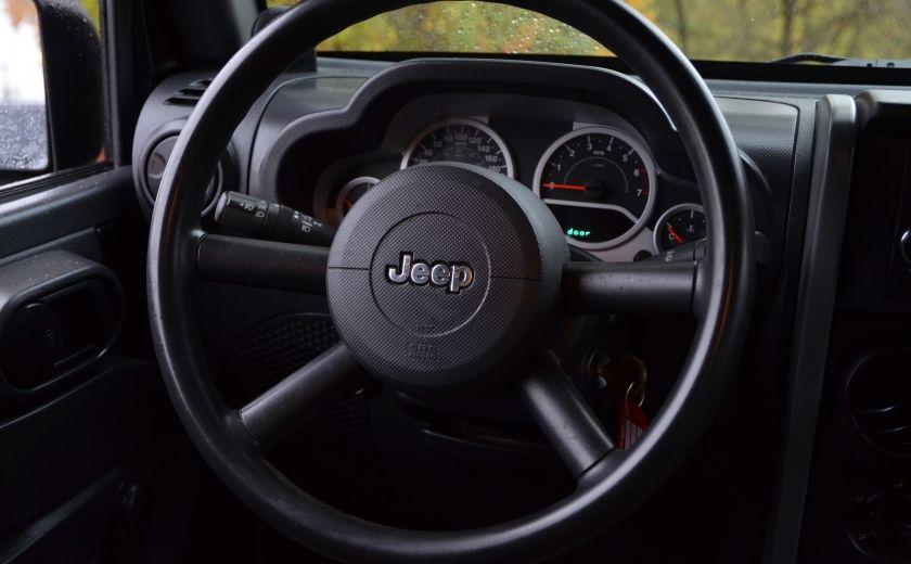 2010 Jeep Wrangler ÉDITION SPORT MAN TOIT MOU 4X4 #11