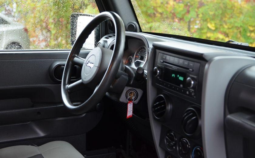 2010 Jeep Wrangler ÉDITION SPORT MAN TOIT MOU 4X4 #19