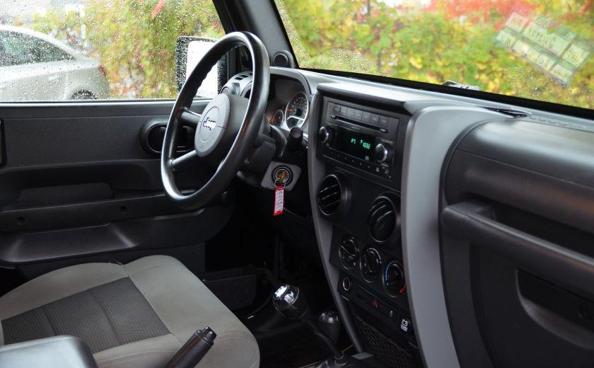 2010 Jeep Wrangler ÉDITION SPORT MAN TOIT MOU 4X4 #20