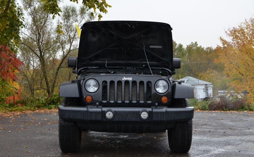 2010 Jeep Wrangler ÉDITION SPORT MAN TOIT MOU 4X4 #23