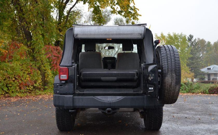 2010 Jeep Wrangler ÉDITION SPORT MAN TOIT MOU 4X4 #25