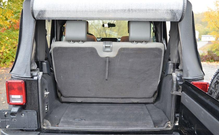 2010 Jeep Wrangler ÉDITION SPORT MAN TOIT MOU 4X4 #26