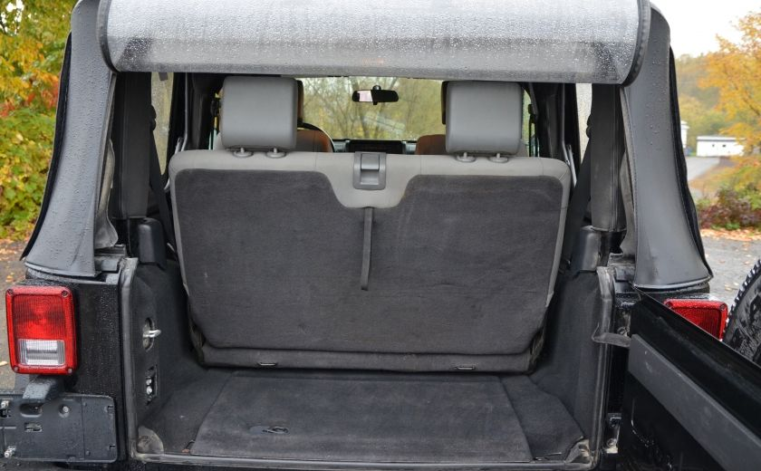 2010 Jeep Wrangler ÉDITION SPORT MAN TOIT MOU 4X4 #27