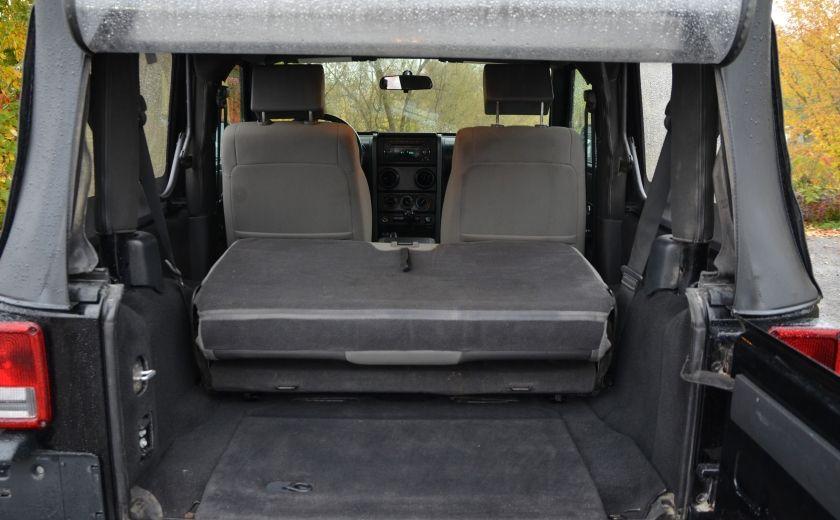 2010 Jeep Wrangler ÉDITION SPORT MAN TOIT MOU 4X4 #28