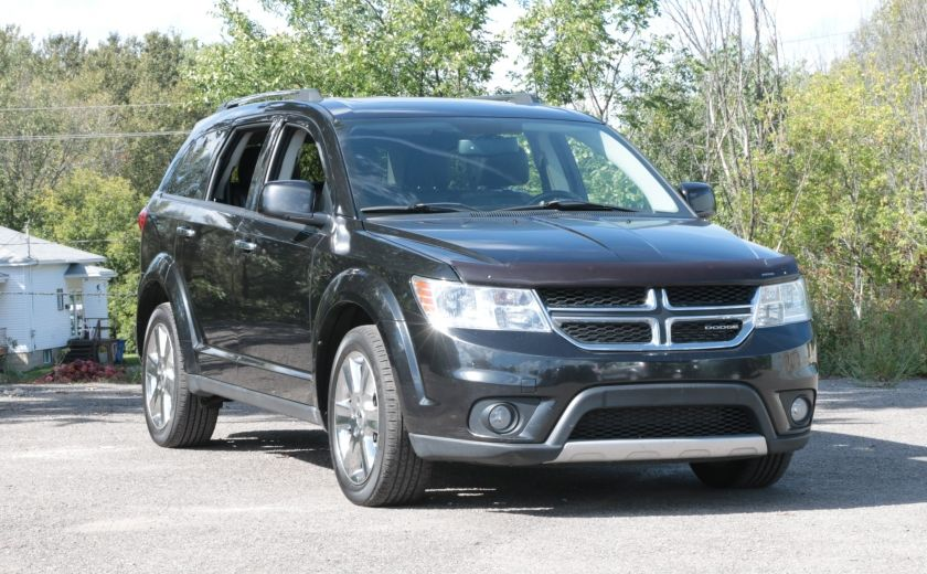2011 Dodge Journey R/T 7 PASSAGERS(RARE) BLUETOOTH A/C BIZONE CAM CRU #0