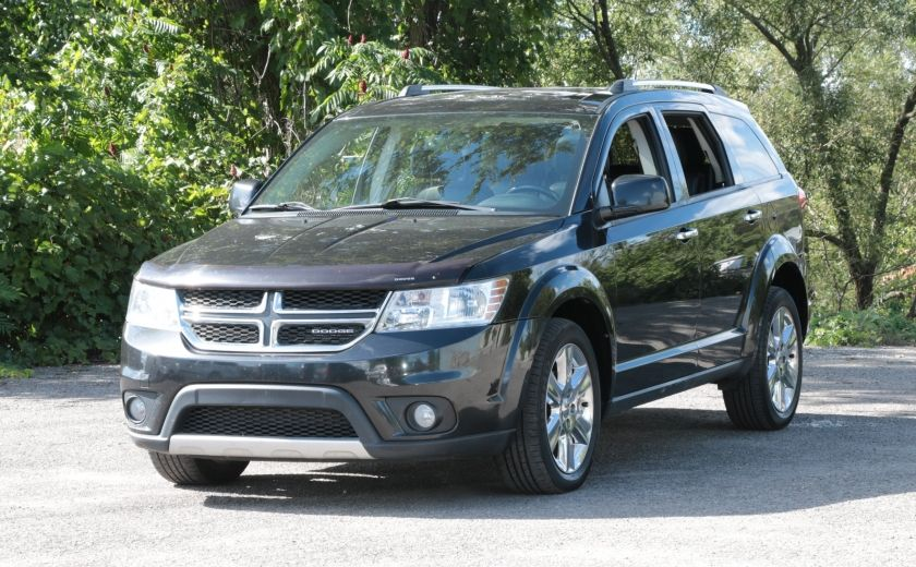 2011 Dodge Journey R/T 7 PASSAGERS(RARE) BLUETOOTH A/C BIZONE CAM CRU #2