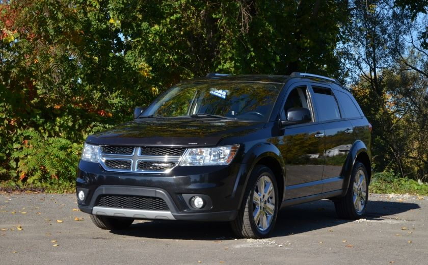 2011 Dodge Journey R/T 7 PASSAGERS(RARE) BLUETOOTH A/C BIZONE CAM CRU #29