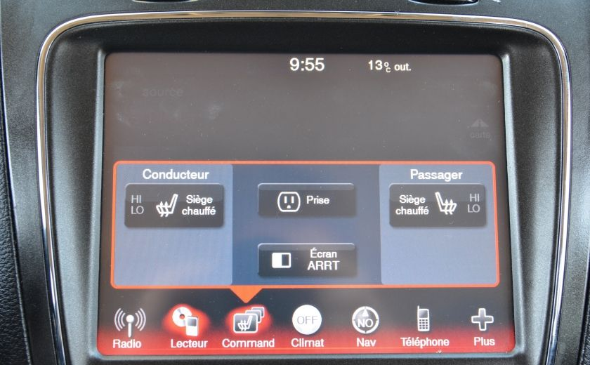 2011 Dodge Journey R/T 7 PASSAGERS(RARE) BLUETOOTH A/C BIZONE CAM CRU #49