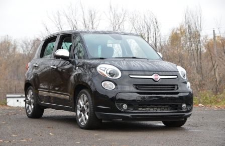 2015 Fiat 500L LOUNGE A/C AUTO BIZONE CRUISE SONAR ABS BLUETOOTH in Sept-Îles