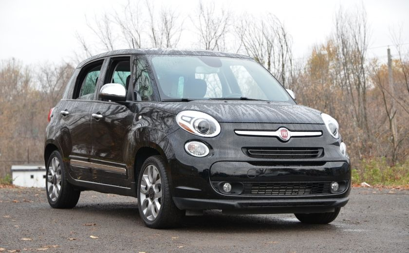 2015 Fiat 500L LOUNGE A/C AUTO BIZONE CRUISE SONAR ABS BLUETOOTH #0