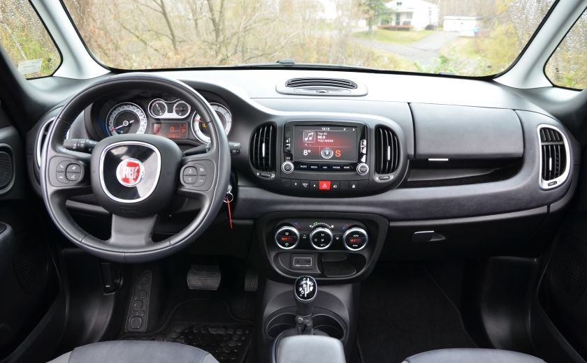 2015 Fiat 500L LOUNGE A/C AUTO BIZONE CRUISE SONAR ABS BLUETOOTH #12