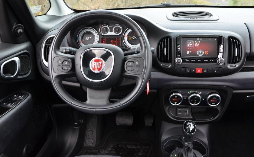2015 Fiat 500L LOUNGE A/C AUTO BIZONE CRUISE SONAR ABS BLUETOOTH #13