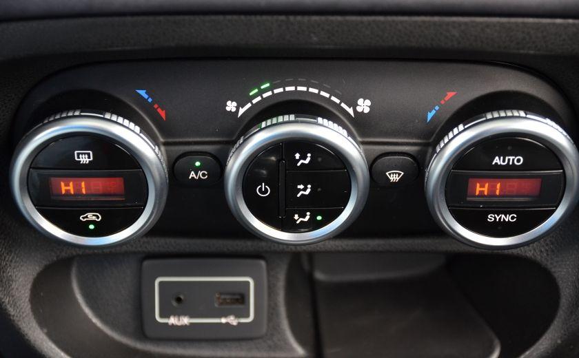 2015 Fiat 500L LOUNGE A/C AUTO BIZONE CRUISE SONAR ABS BLUETOOTH #23