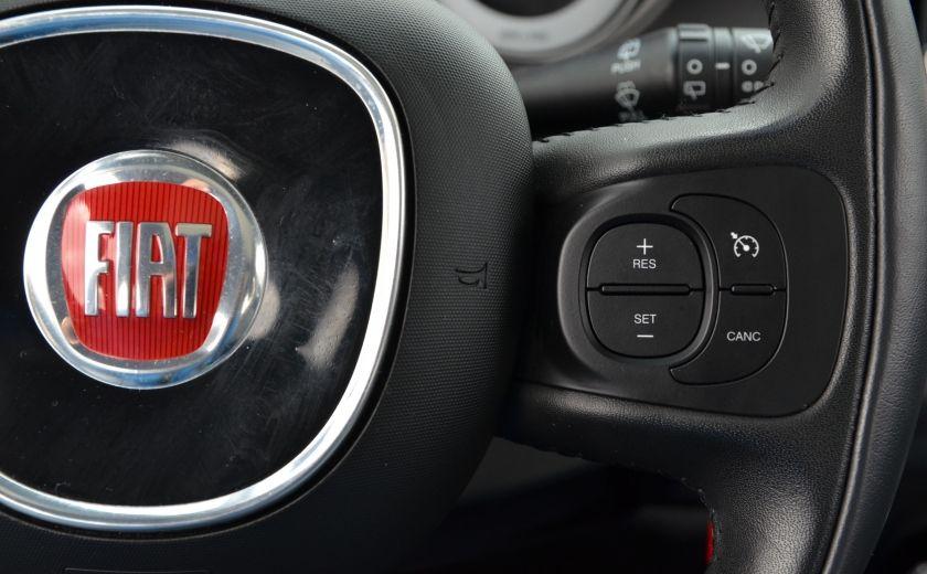 2015 Fiat 500L LOUNGE A/C AUTO BIZONE CRUISE SONAR ABS BLUETOOTH #31