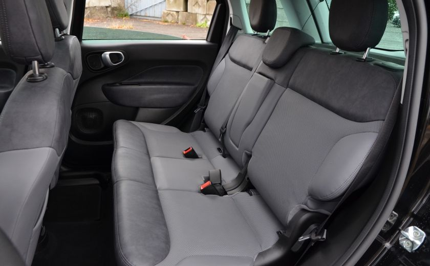 2015 Fiat 500L LOUNGE A/C AUTO BIZONE CRUISE SONAR ABS BLUETOOTH #35
