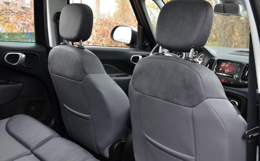 2015 Fiat 500L LOUNGE A/C AUTO BIZONE CRUISE SONAR ABS BLUETOOTH #37