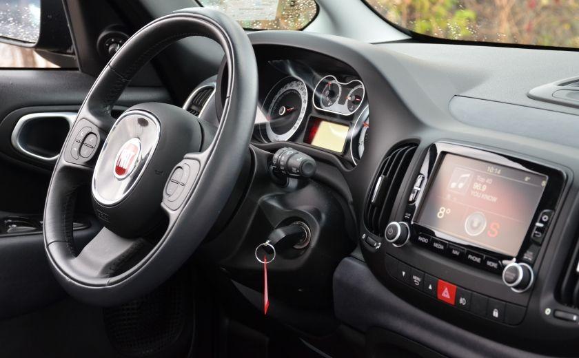 2015 Fiat 500L LOUNGE A/C AUTO BIZONE CRUISE SONAR ABS BLUETOOTH #39